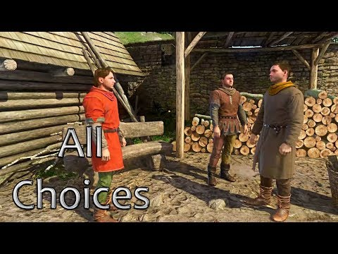 Following Matthias After Convincing Him | Kingdom Come Deliverance Game | A Woman's Lot DLC |