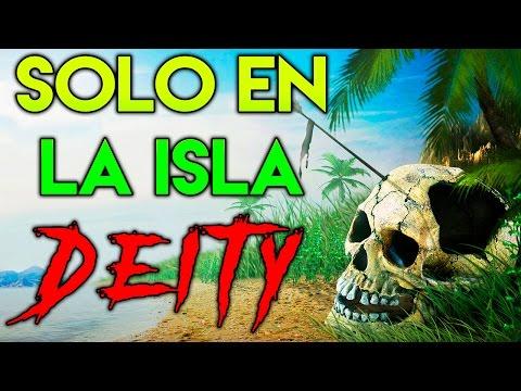 NUEVA SUPER SERIE | SOLO EN LA ISLA DEITY! DÍA #1