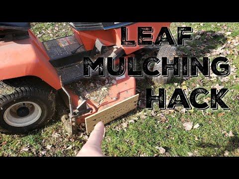 DIY Leaf Mulching Hack