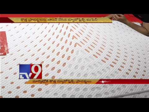 Anil Kumble launches new Duroflex products in Bangalore event - TV9