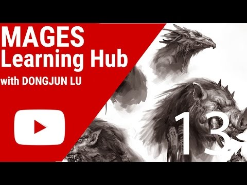 Digital Painting Tutorial 14 - Creatures