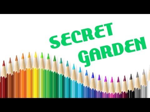 Secret Garden Coloring Book Page 13