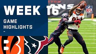 Bengals vs. Texans Week 16 Highlights