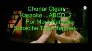 Chunar ABCD 2 Clean Karaoke track