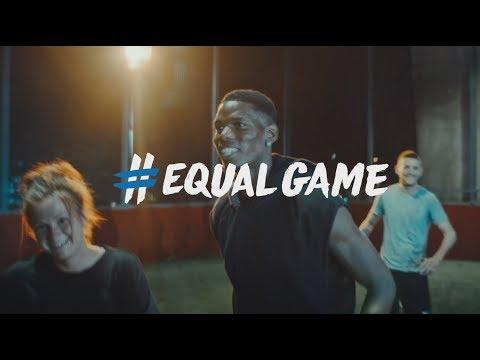 NEW #EqualGame 18/19 ft Messi, Ronaldo, Pogba & Hegerberg