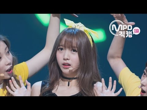 [Fancam] Kim So Hee of C.I.V.A-WHY KPOP FANCAMㅣM COUNTDOWN 160707 EP.115