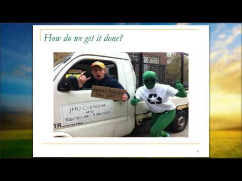 Maryland Recycling Network - Leana Houser - Johns Hopkins University
