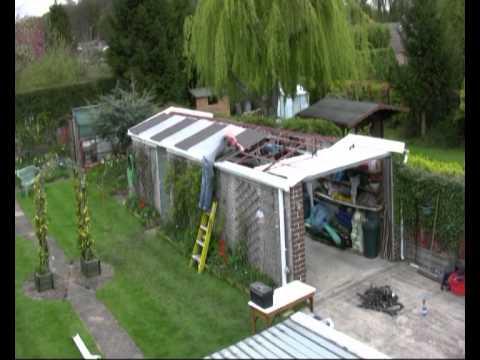Compton concrete garage roof revamp