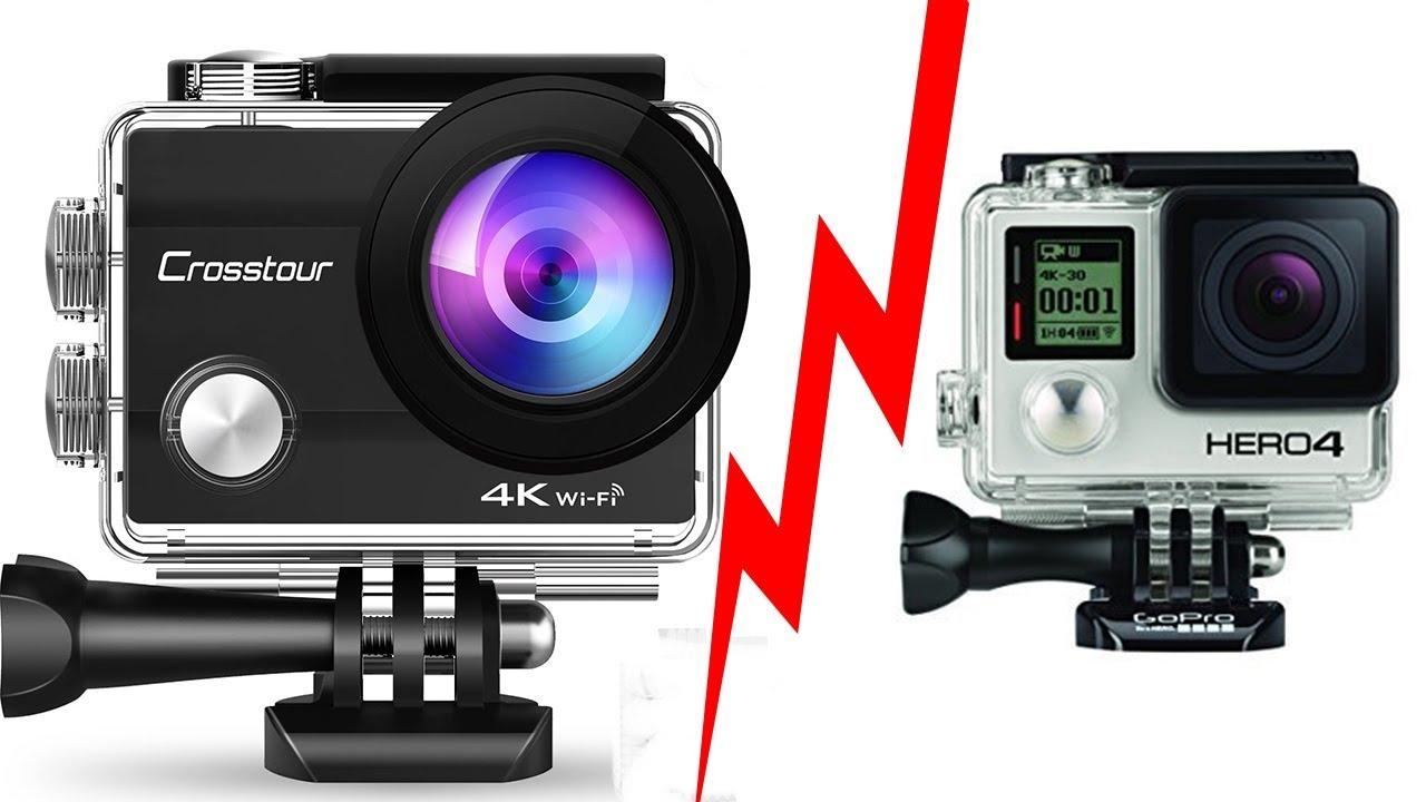 Test de la caméra crossTour contre GoPro - YouTube 58f86c73897c