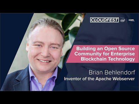 Building An Open Source Community For Enterprise Blockchain Technology