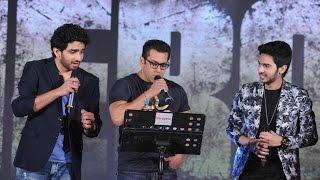 Salman Khan, Sooraj Pancholi & Athiya Shetty At HERO Music Concert