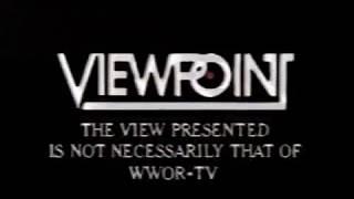 WWOR 9 Secaucus NJ  1988  Five Million Years  pt 5