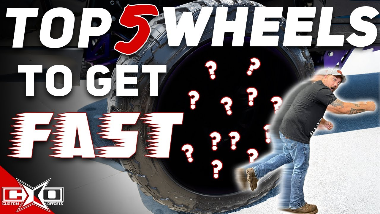 Top 5 Wheels IN STOCK!!
