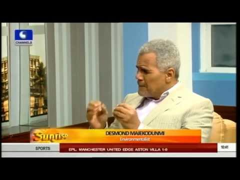 Sunrise Discusses FG's Move On Ogoni Land Clean Up (PT1) 15/08/15