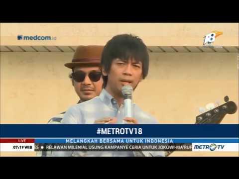 #METROTV18: Ini Maksud Lagu 'Jangan Menyerah' D'Masiv