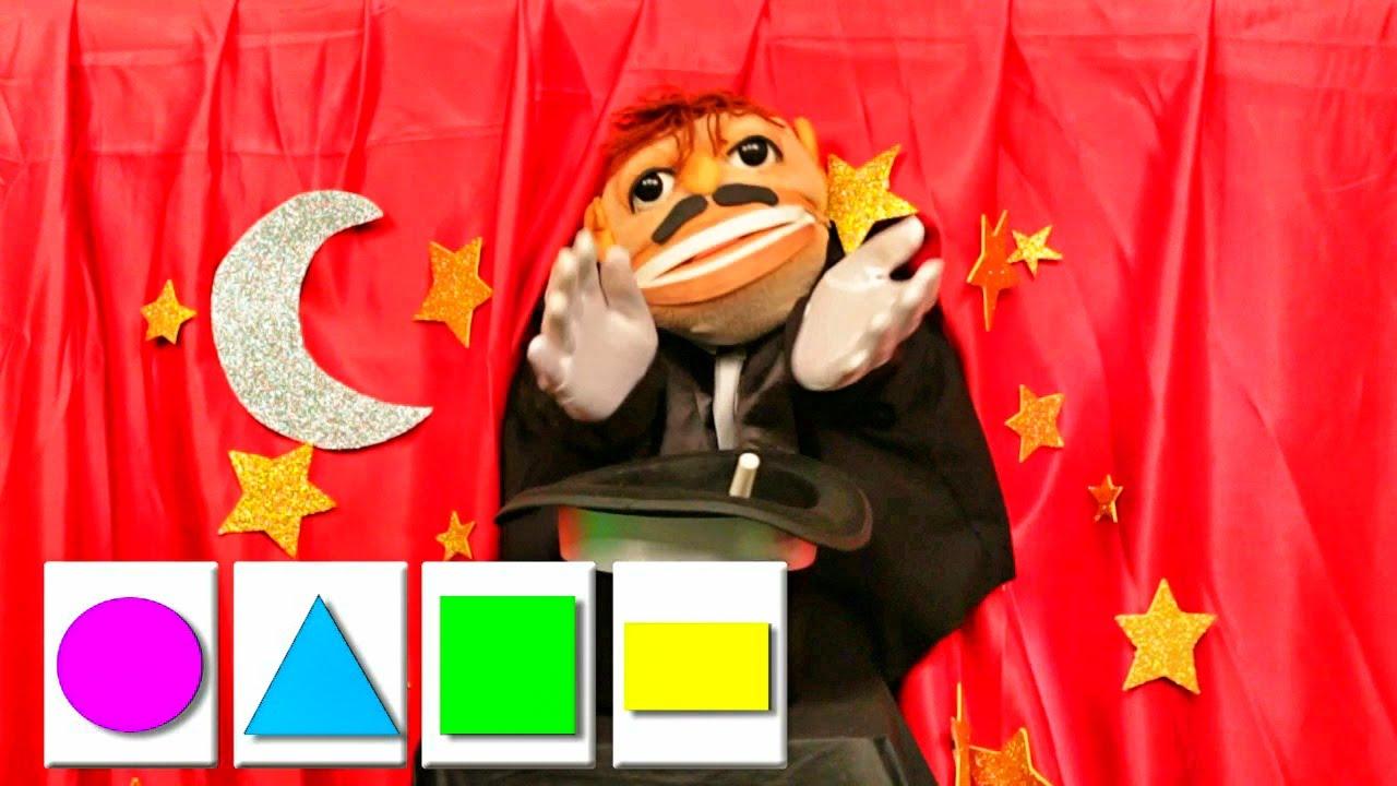 ✫Las Formas Geométricas ✫ Aprende y divierte - Videos para niños - El Mago TaTa-TaTa #