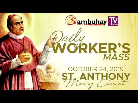 Sambuhay TV Mass   October 24, 2019