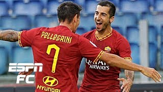 Henrikh Mkhitaryan scores debut goal in AS Roma's rout of Sassuolo | Serie A Highlights