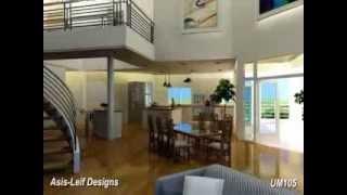 Ultra Modern Home Stock Plan Um105