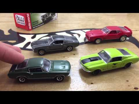 Greenlight, Hot Wheels, M2 And Auto World Compared!