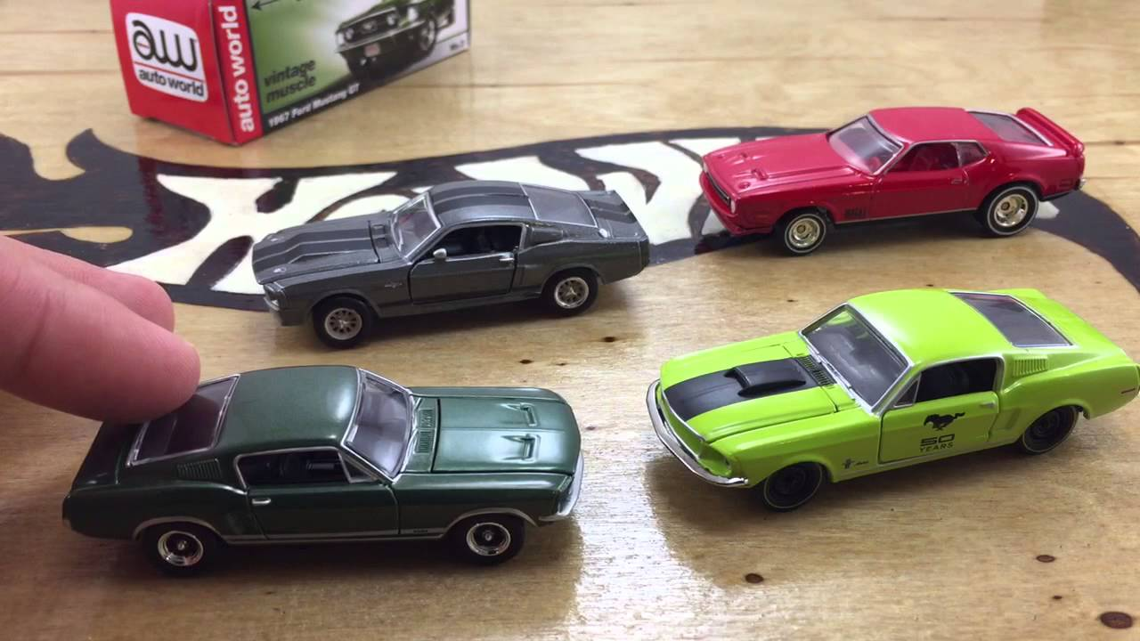 Greenlight, Hot Wheels, M2 And Auto World Compared!   YouTube Nice Design