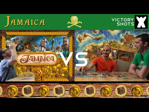 Jamaica - Board Game PLAYTHROUGH (#2)