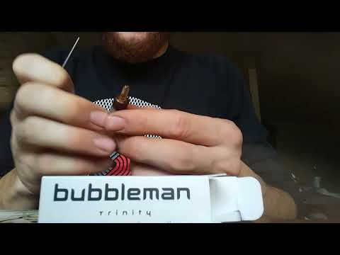 How to fill a cannabis concentrate vape pen cartridge(BUBBLEMAN TRINITY)