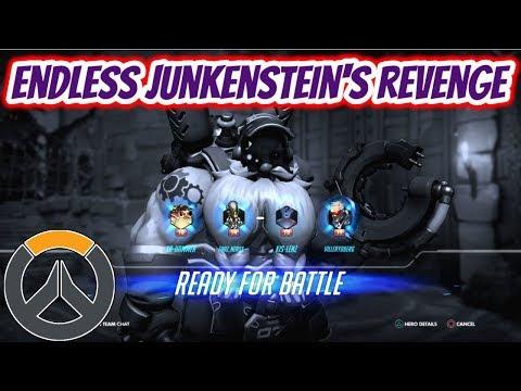 Overwatch   Endless Junkenstein's Revenge