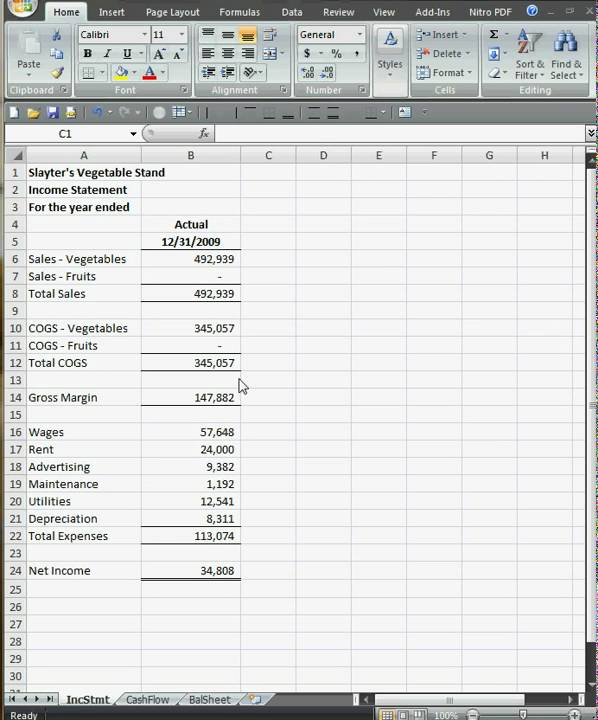 business plan budgeting part1 youtube