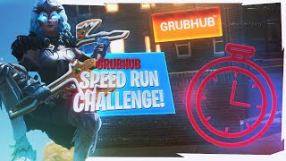 Grubhub SPEED-RUN Challenge! (WIN FREE GRUBHUB FOR A YEAR)