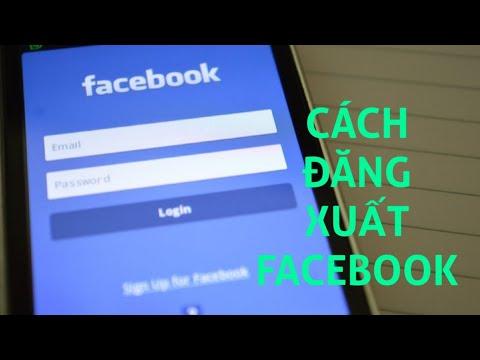 Cách đăng xuất facebook trên điện thoại mới nhất