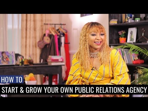 How to Start Your Own PR Agency & Stand Out