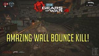Amazing Wall Bounce Kills! | Gears 4 Multiplayer Gameplay #1