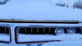 By Request: Cold Start the 1972 Chrysler!