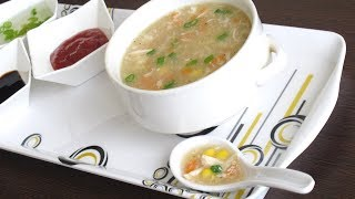 Easy Sweet Corn Chicken Soup    ചൂടോടെ-ചൂടോടെ അടിപൊളി സൂപ്പ്    Recipe:61