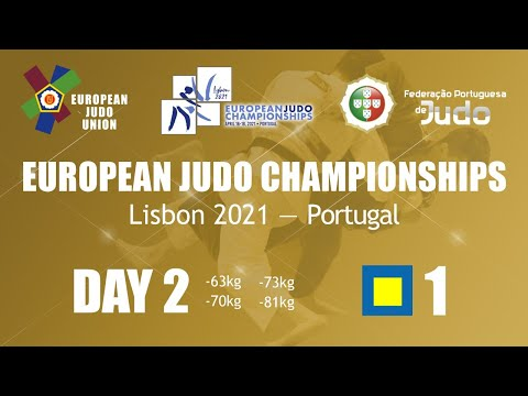 Day 2: Tatami 1 - European Judo Championships 2021