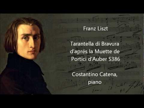 Liszt - Tarantella di Bravura - Costantino Catena, piano