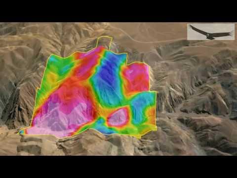 ZTEM Geophysics, Copaquire, Chile- Condor Consulting, Inc., 2016