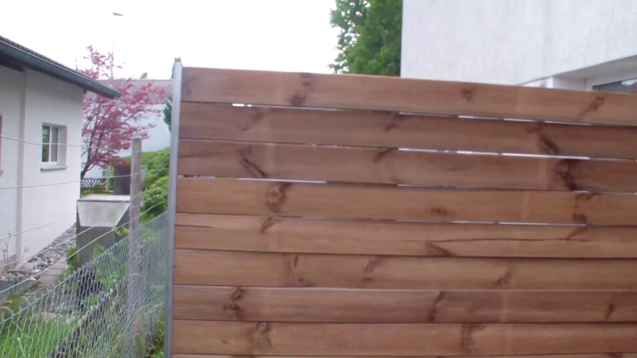 Gartendusche Holz Sichtschutz Build Privacy Screen Yourself