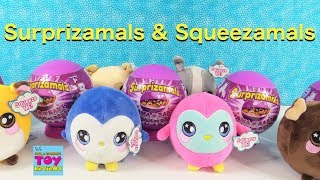 Surprizamals Mama & Baby + Squeezamals Plush Toy Review   PSToyReviews