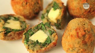 """""""diwali Special"""" How To Cook Palak Cheese Balls By Archana"""