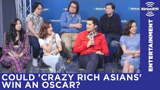 Cast of Crazy Rich Asians on the Best Popular Film Oscar category