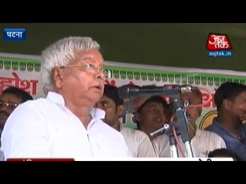 Bihar Election: Lalu's March Over Caste Census, Paswan Says It's A Stunt Mp3