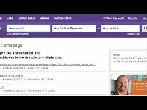 Simplify your job search with RSS and Indeed