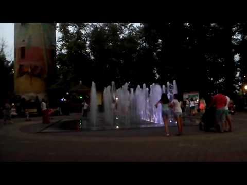 Вечер у фонтана, Лиски 2016 год