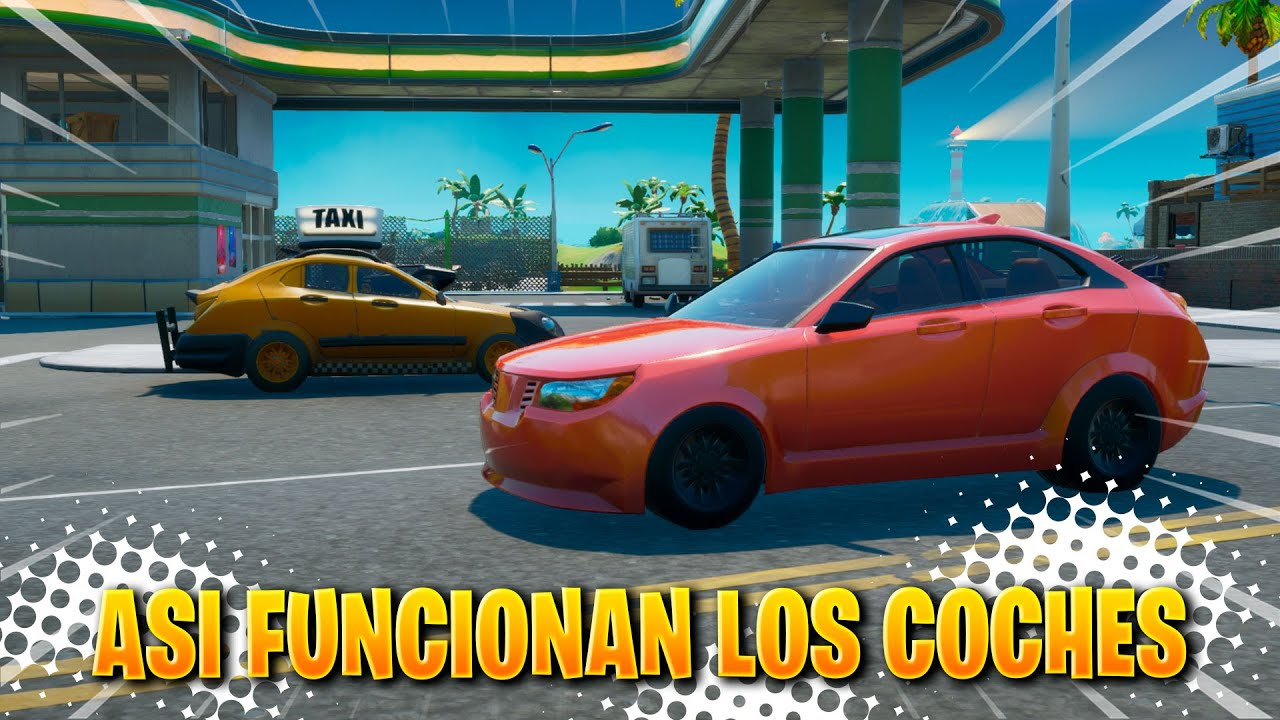 ASI FUNCIONA LOS COCHES EN FORTNITE TEMPORADA 3