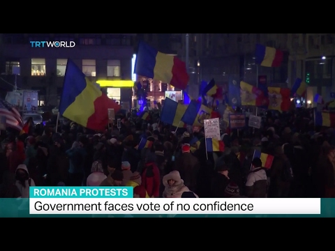 Romania Protests: Government faces vote of no confidence