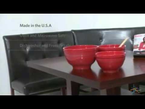 Fiesta Dinnerware Scarlet 3 pc Baking Bowl Set - Product Review ...