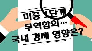 미중 1단계 무역합의··· 국내 경제 영향은? / 애플…