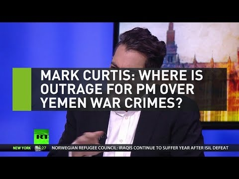 Mark Curtis: Where is the outrage for the PM over Yemen war crimes?